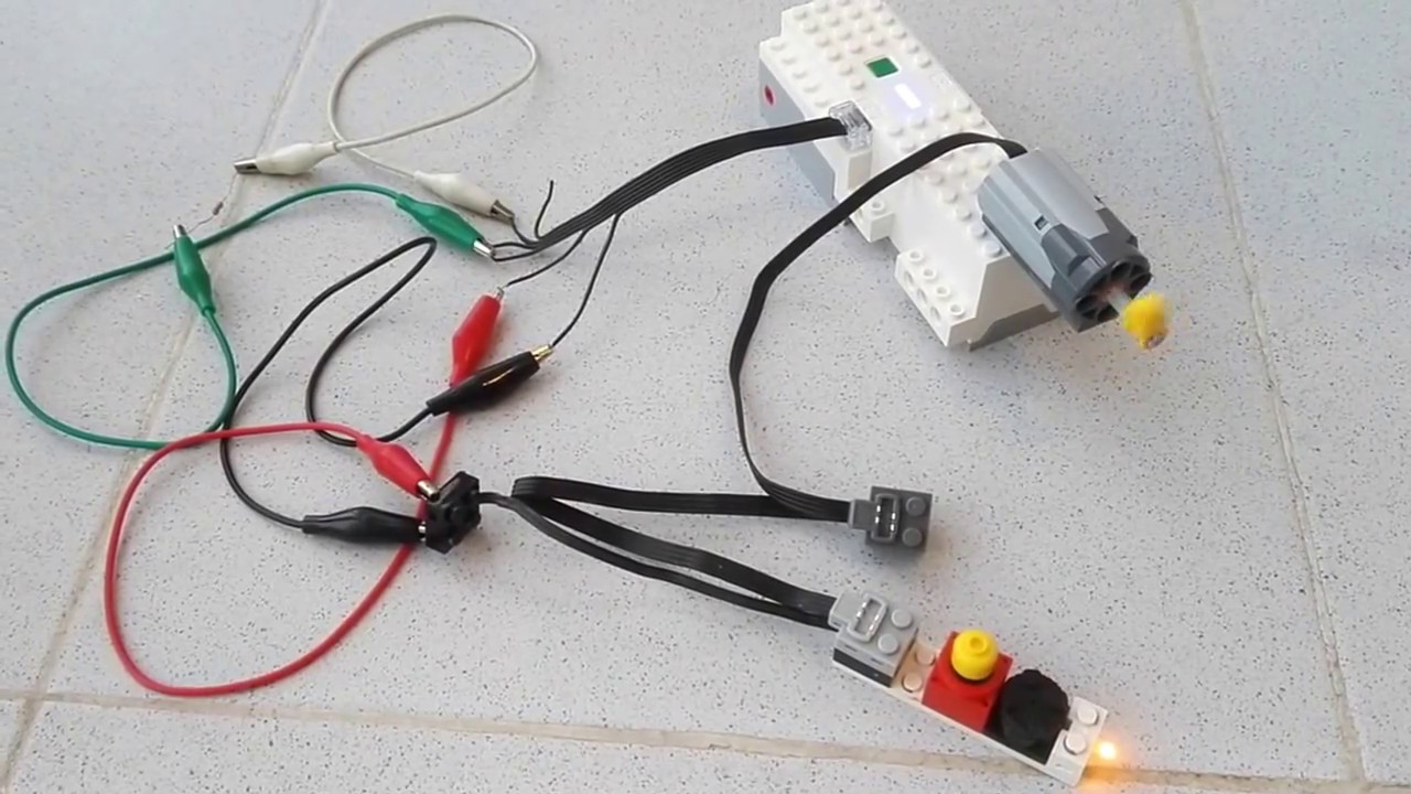 Lego Boost With Old Power Functions And 9v Devices