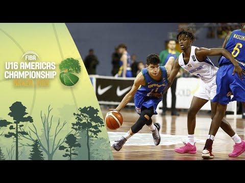 Dominican Republic V Brazil - FIBA U16 Americas Championship 2019 [POR]