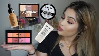 One Brand Tutorial | NYX Cosmetics | MeenalGarib