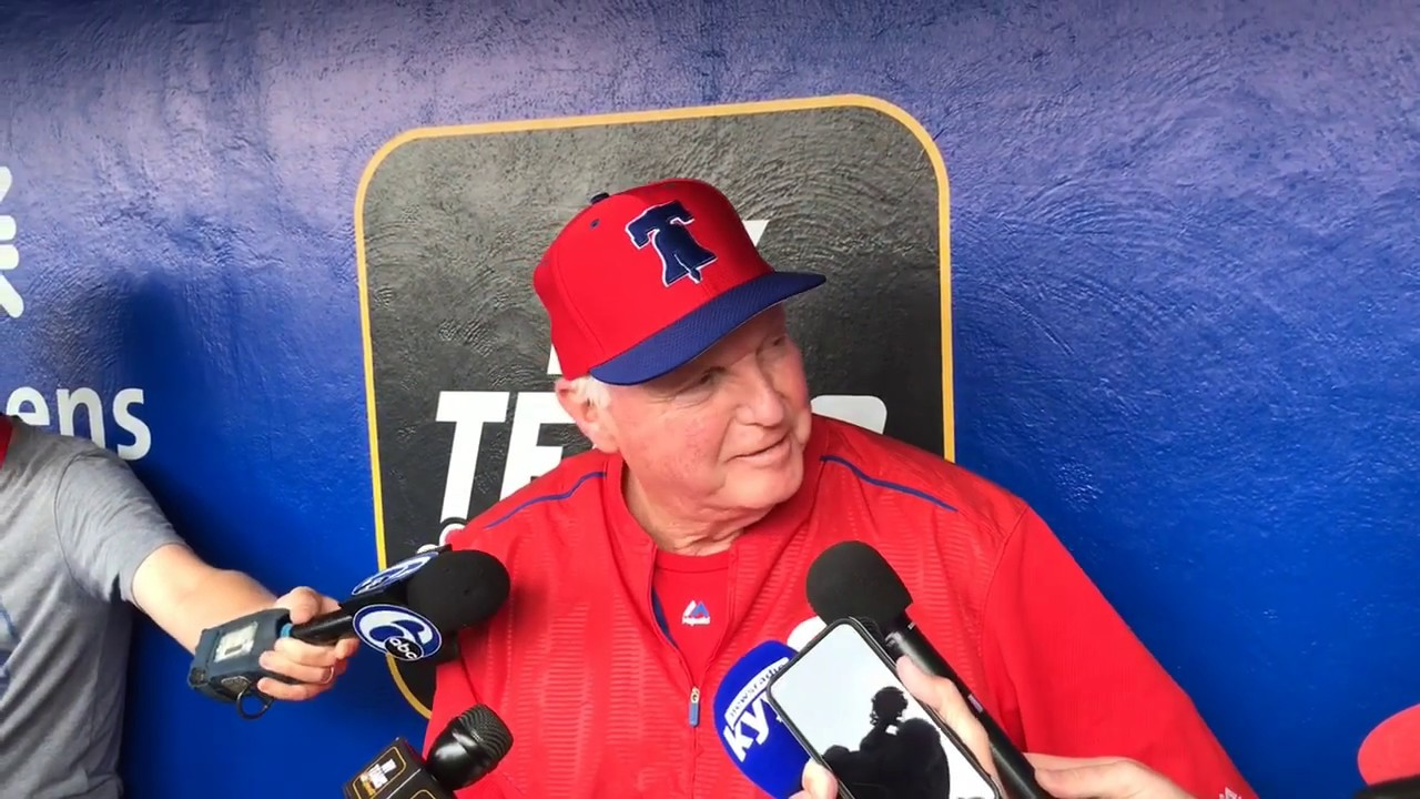 Charlie Manuel Is Back With The Phillies And Its Like He