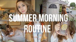 Summer Morning Routine 2015 | Chelsea Trevor
