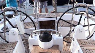 2015 X Yachts XC45 Sailing Yacht - Deck and interior Walkaround - 2015 Annapolis Sail Boat Show
