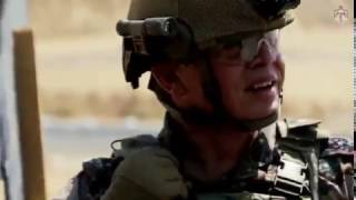 بالفيديو.. ملك الأردن يقتحم نقطة أمنيةفي تدريب بالذخيرة الحية