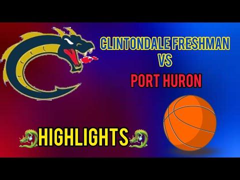 CLINTONDALE HIGH SCHOOL FRESHMAN vs PORT HURON GAME