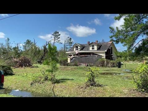 Online Originals: Martin Community College gives check for Bertie County tornado victims