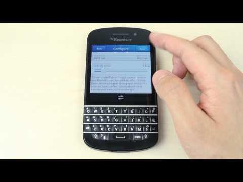 How To Share The Internet Connection From Blackberry Q10