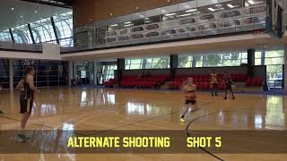 Shooting alternate shooting 5