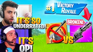 Why The MINIGUN is BETTER Than *MYTHIC* WEAPONS! (Fortnite Battle Royale Season 2)