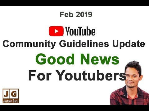 New Youtube Community Guidelines Changes. One Time Warning In Hindi