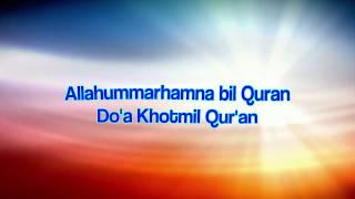 Download Mp3 Allahummarhamna Bil Quran || Do'a Khotmil Qur'an  Instrumental