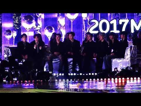 171202 MMA EXO KNOCK KNOCK @ 멜론뮤직어워드 엑소 낙낙 (+ 멤버들 온도차 너무 귀여운ㅋㅋ)