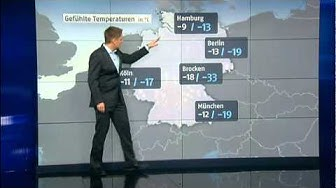 Das N24-Wetter am 01.01.12 mit Alexander Hildebrand