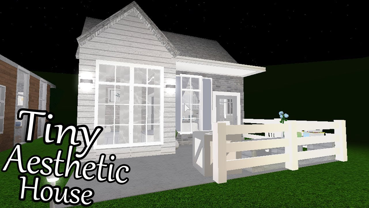 Bloxburg Tiny Aesthetic House No Gamepass 13k Youtube