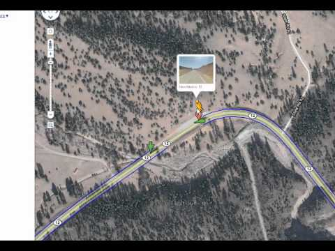 Ufo On Google Maps Street View In New Mexico 2010 Youtube