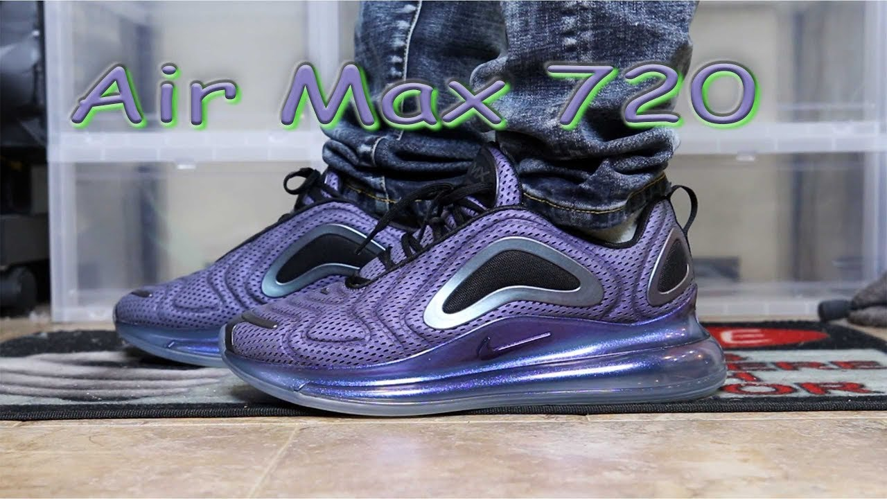 new concept 6115b f43e5 Airmax 720 Review Sizing information and on foot