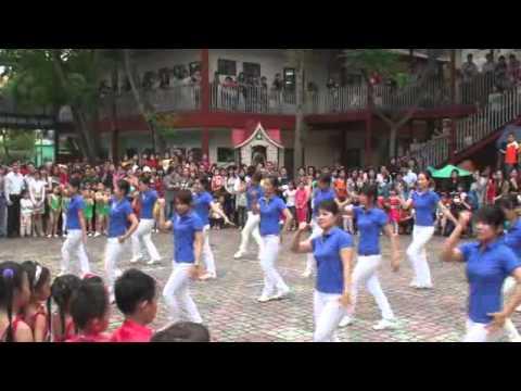 Hội khỏe măng non tháng 4/2011 - Trường Mầm non Thực hành Hoa Hồng