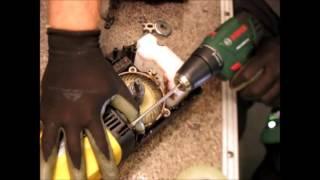 Ремонт электропилы , останавливается под нагрузкой,