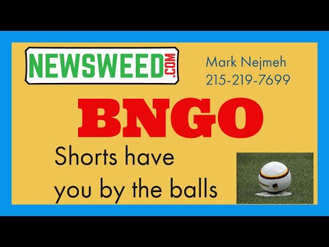 BNGO Bionano Genomics - July 19, 2021: Mark Nejmeh Short Strategy