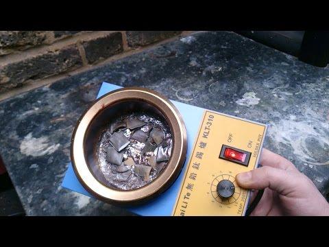 Electric solder melting pot KLT-310 review