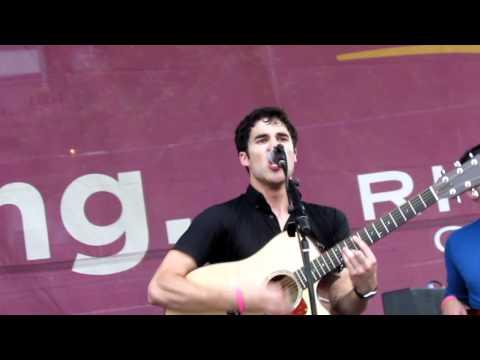 Chicago Darren Criss performs Stutter at Northalsted Market Days