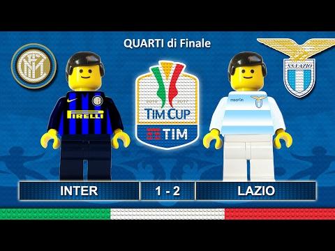 Tim Cup 2017 • INTER LAZIO 1-2 • Coppa Italia 2017 ( Film Lego Calcio ) Sintesi Goal Inter Lazio