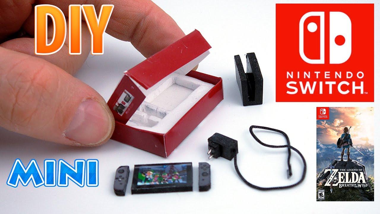 Diy Realistic Miniature Nintendo Switch Dollhouse No