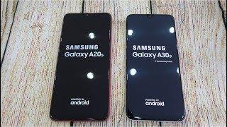 Samsung Galaxy A20s vs Samsung Galaxy A30s   Speed test and Camera comparison