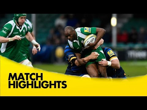Worcester Warriors V London Irish - Aviva Premiership 2015/16