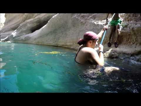 Wadi  Ash Shap Trip, Tiwi  - Oman Tours 1080p ( Umman Muskat vadi gezisi)