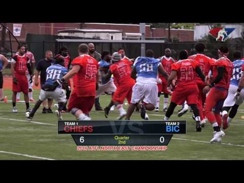 ‎2016 A7FL Championship - NJ BIC vs NJ Chiefs - American 7s Football League