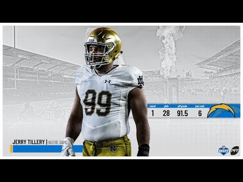 2019 NFL Draft: Chargers select Jerry Tillery | PFF