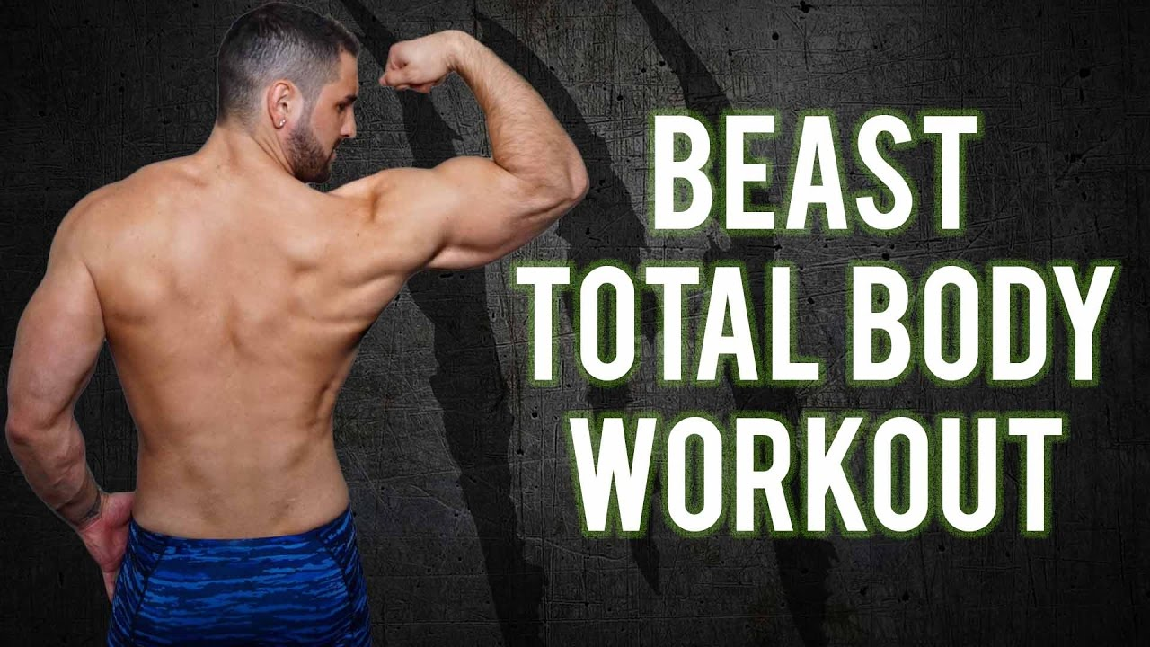 7 Minute No-Gym Total Body BEAST Home Workout - PART 1 | Total Body Workout  For Men (No EQUIPMENT)