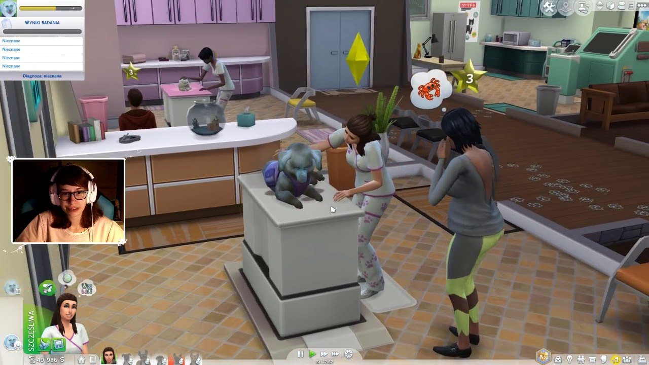 """[Archiwum] Live – The Sims 4 Psy i Koty! (3) – [2/2] – """"Historie życia"""""""