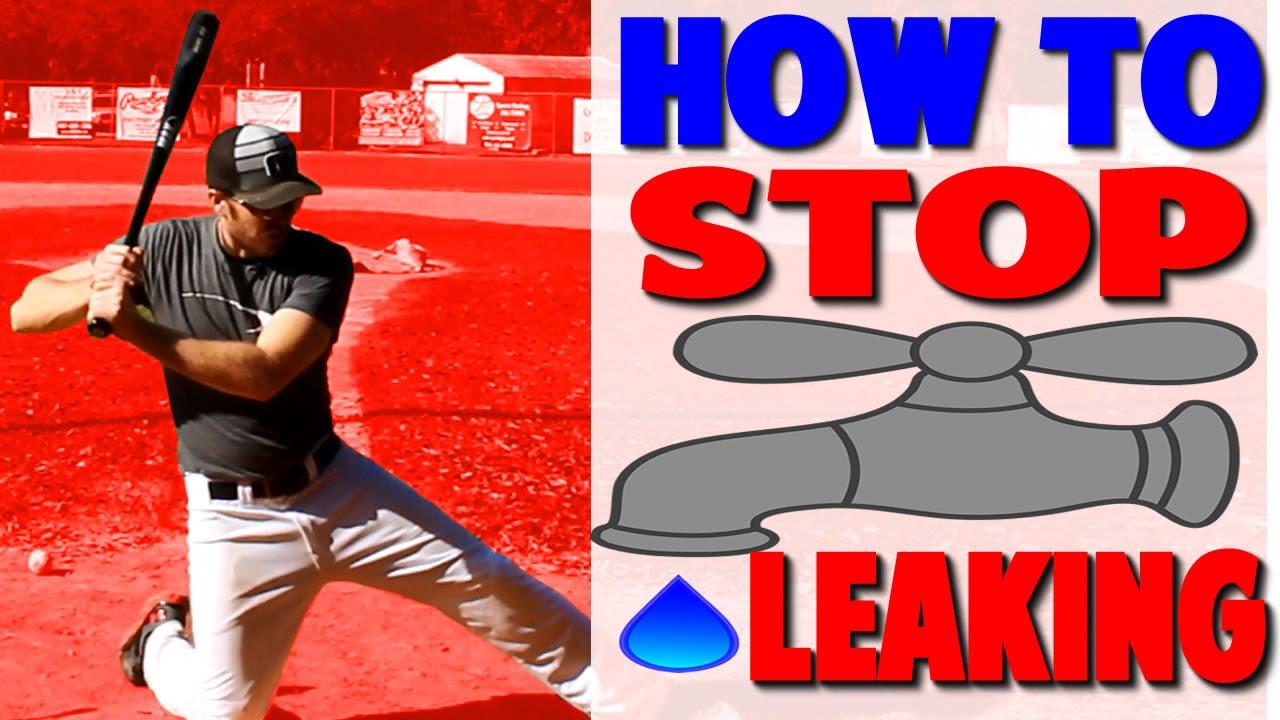 Baseball Hitting Fix Leaking Pro Sd
