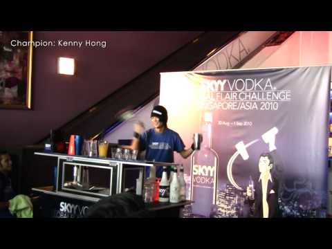 SKYY Vodka Global Flair Challenge 2010 - Singapore Finals