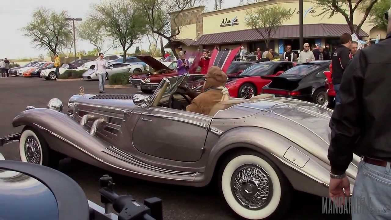 Classic 1930's Mercedes Benz 500K at Cars and Coffee ...