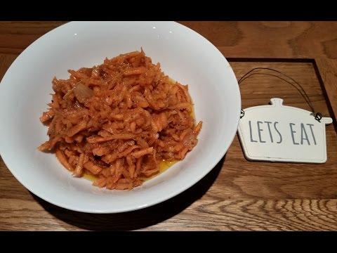 Ana's Russian Food - Russian/Korean Carrot Salad