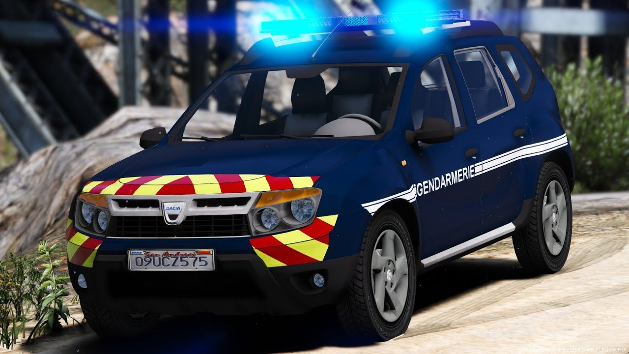 gta lspdfr 4x4 dacia duster gendarmerie nationale 70 youtube. Black Bedroom Furniture Sets. Home Design Ideas