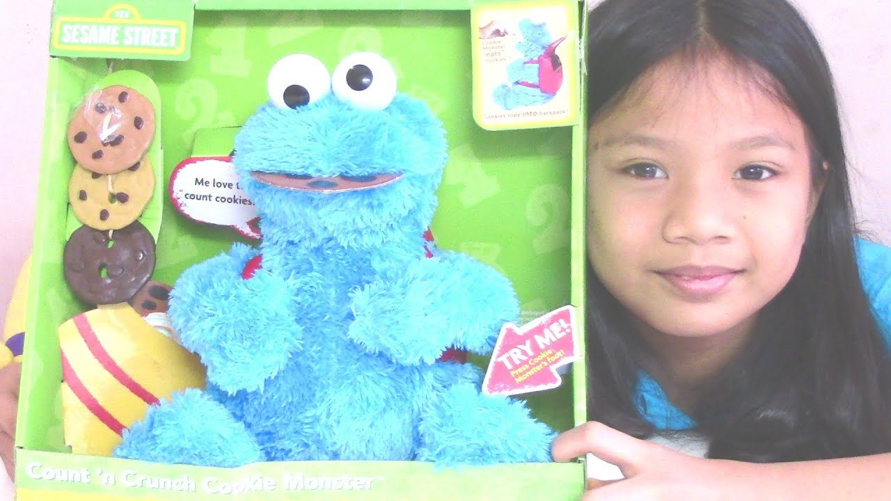 Cookie Monster Count n Crunch Sesame Street by PlaySkool