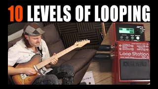 Boss RC5, 10 Levels of looping demo