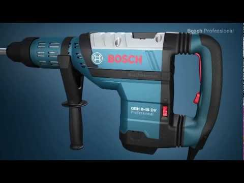 Видео обзор: Перфоратор SDS-max BOSCH GBH 8-45 DV