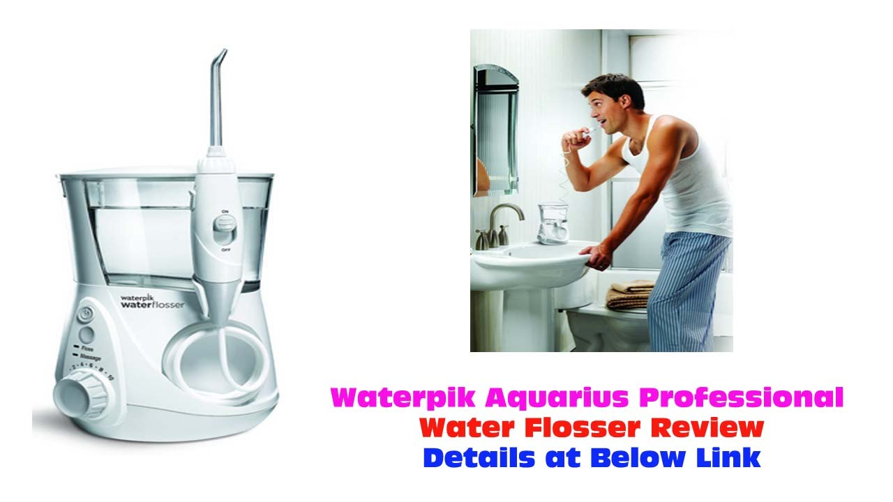 waterpik aquarius professional water flosser review the best waterpik wp 660. Black Bedroom Furniture Sets. Home Design Ideas