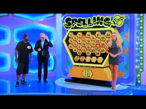 The Price is Right - Spelling Bee - 1/10/2017