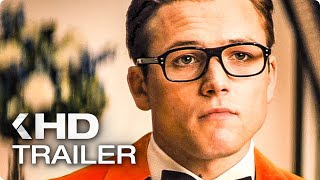 KINGSMAN 2: The Golden Circle ALL Trailer & Clips (2017)