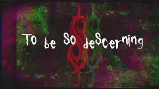 Slipknot - Orphan (Lyric Video)