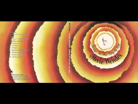 """STEVIE WONDER. """"Knocks Me Off My Feet"""". 1976. Album """"Songs In The Key Of Life""""."""