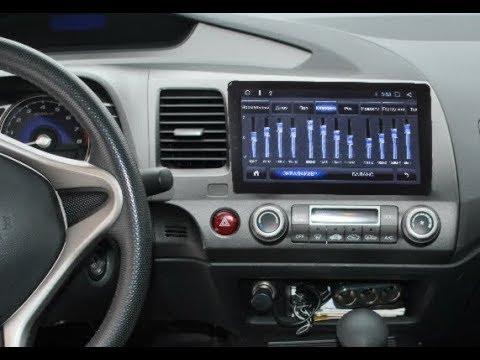 Штатная магнитола Honda Civic (2006-2011) (левый руль) Android ZOY-11