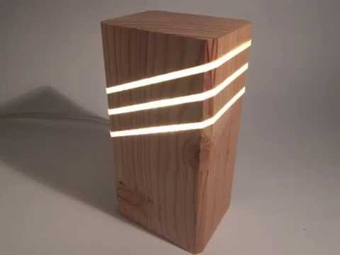 Wood Lamp Design YouTube