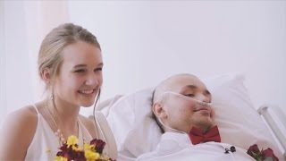 Teen With Bone Cancer Marries His High School Sweetheart In Hospital ICU