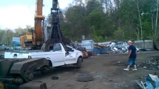 Scrap yard smashing